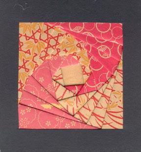 iris paper folding