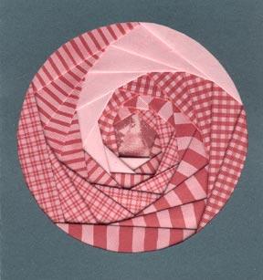 Iris Folding Project #2 – Circle