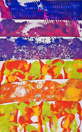 Free Form Monoprints