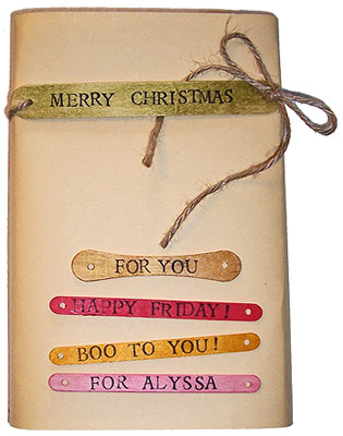 Craft Stick Tags