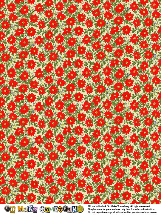 Poinsettia Set