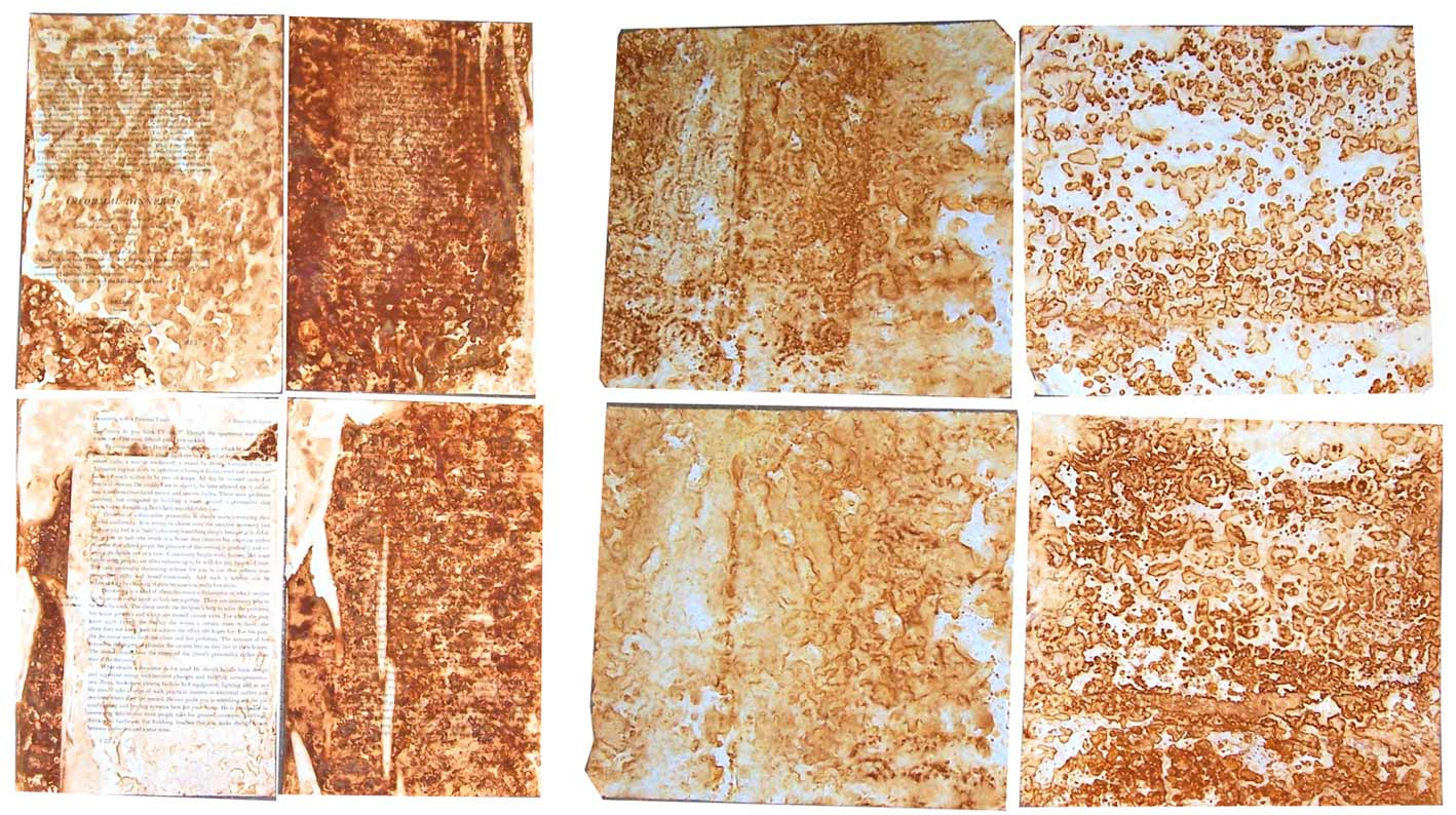 How To Make Rusted Paper Go Make Something