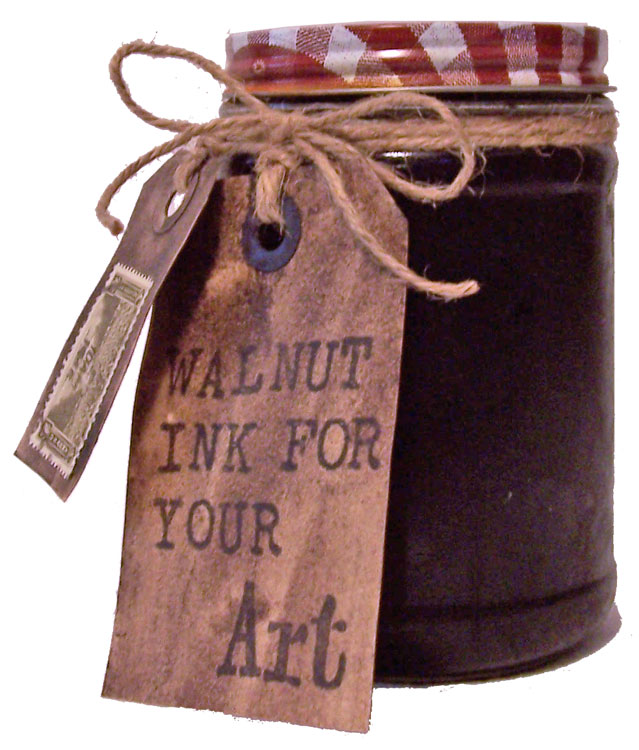 How To Make Walnut Ink
