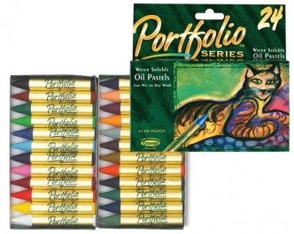 Crayola 24ct PortfolioSeries Oil Pastels