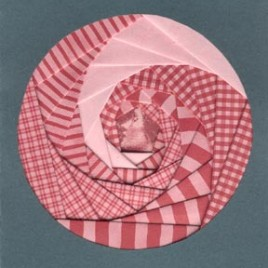 Iris Folding Project #2 - Circle