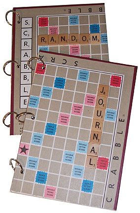 Simple Scrabble Board Journals