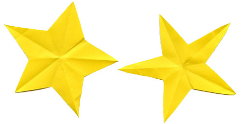 Fold & Cut a Perfect Star