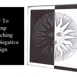 How To Stamp A Matching Positive/Negative Design